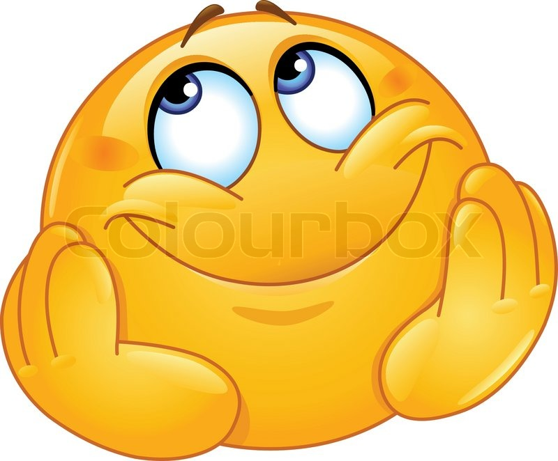 Hands shaking picture clipart best - Dreamy Emoticon With His Head Propped By His Hands Stock