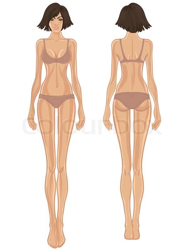 smukke kvindelige organer skrabning fitness