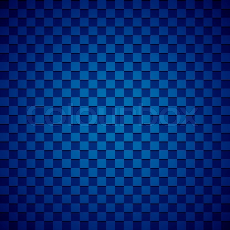 Blue and black checkered background | Stock Photo | Colourbox