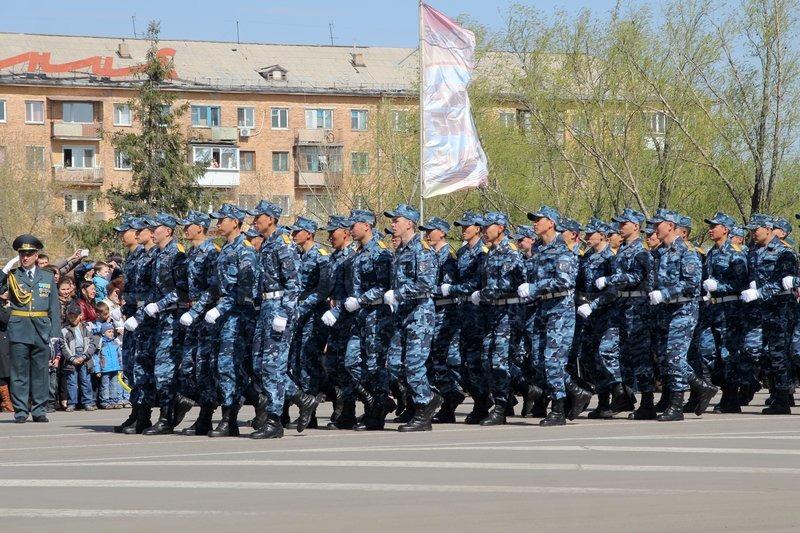 PETROPAVLOVSK MAY 7: Public holiday \