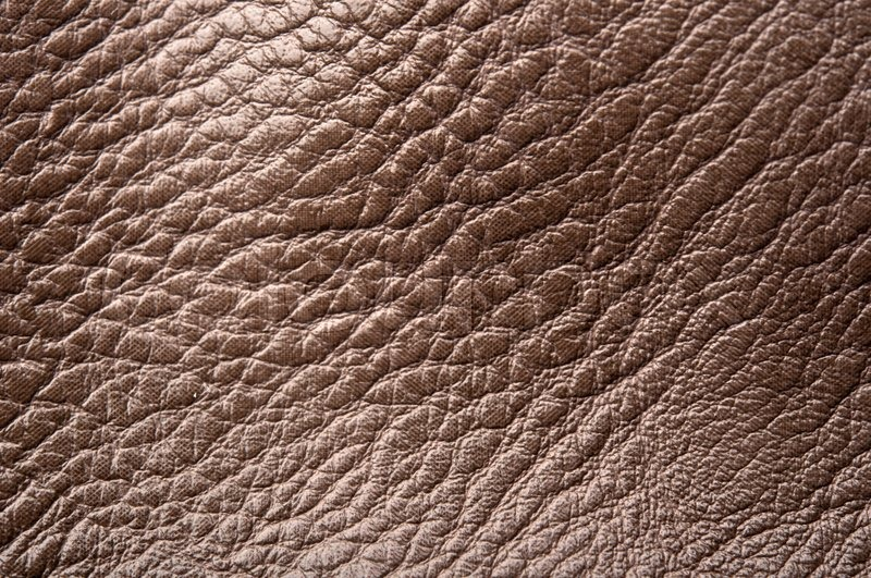 Vintage Distressed Brown Leather Texture Stock Photo