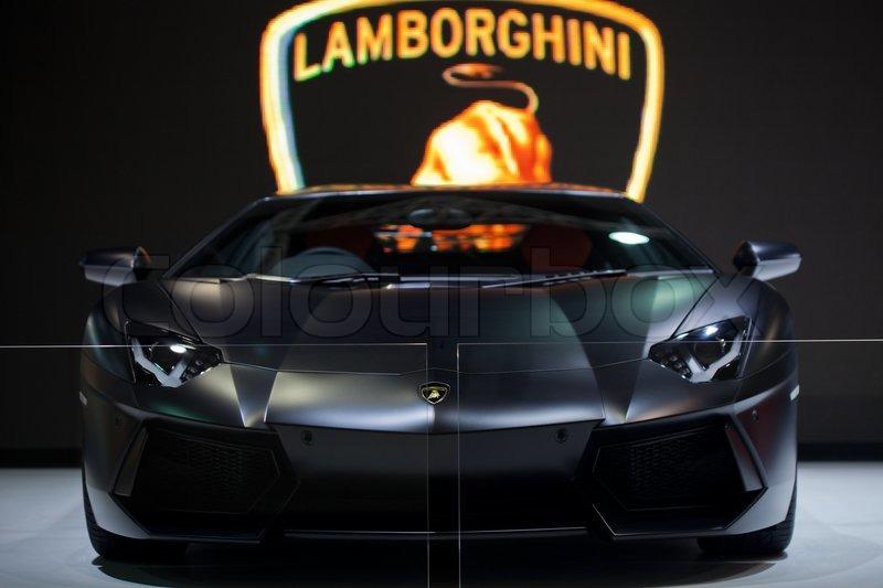 Beautiful BANGKOK   MAY 13: Black Lamborghini Gallardo Sports Car On Display At The  Super Car U0026 Import Car Show At Impact Muang Thong Thani On May 13, 2013 In  Bangkok ...