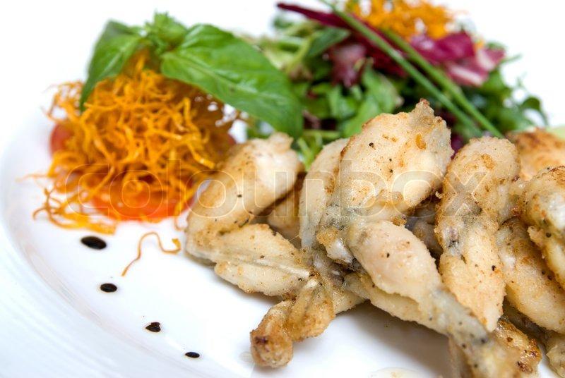 Gebratene Froschschenkel | Stockfoto | Colourbox | {Französische küche froschschenkel 20}