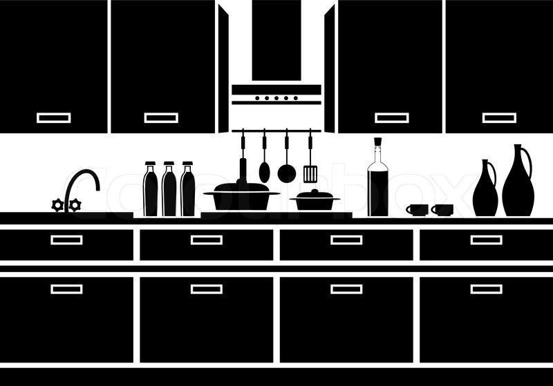 Icon of kitchen | Stock Vector | Colourbox