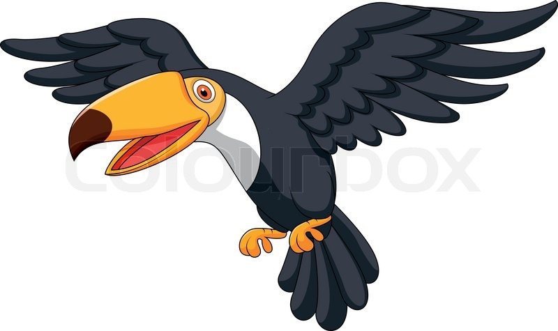 Cartoon parrot flying - photo#20