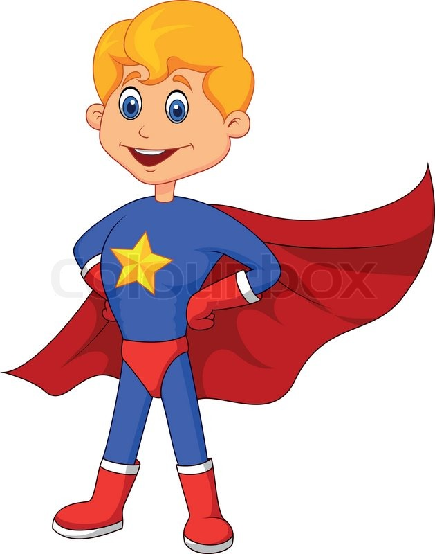 Cartoon kid superhero pixshark images