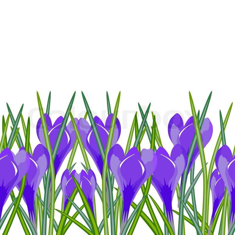 Seamless Horizontal Background Of Stock Vector Colourbox