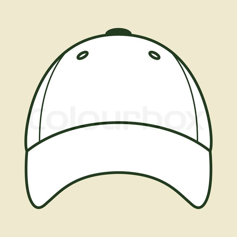 vector baseball cap stock vector colourbox