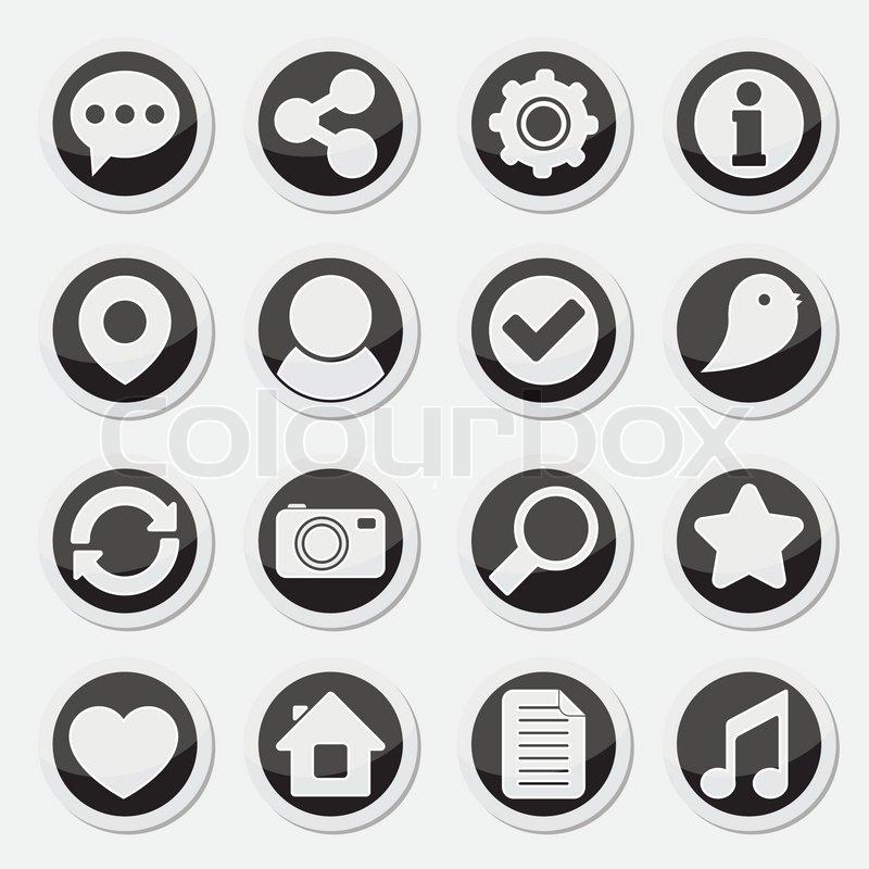 runde symbole