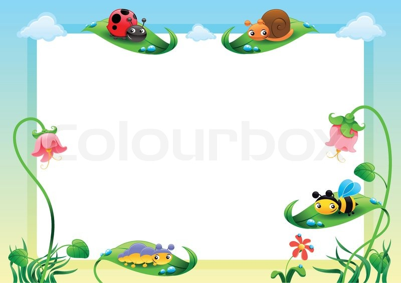 Funny Card With Empty Space For Text Stock Vector Colourbox