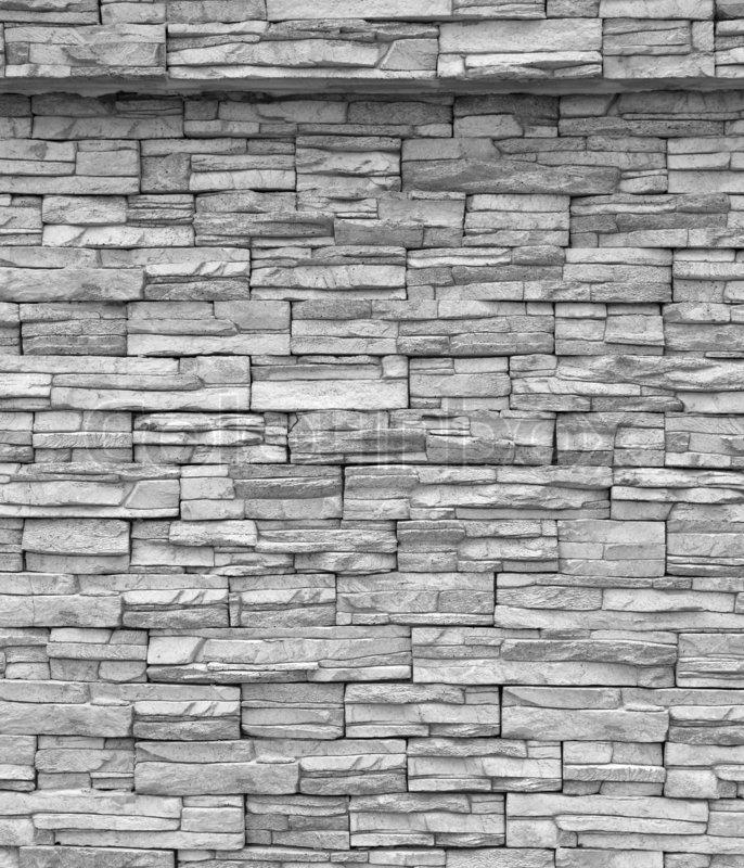 Dekorative Mauer Grau Mauer, Stock Foto