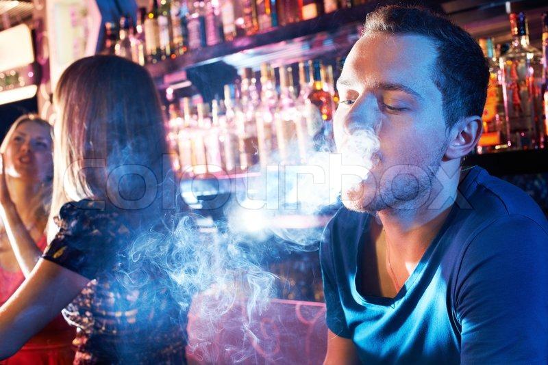 Пассивное курение кальяна