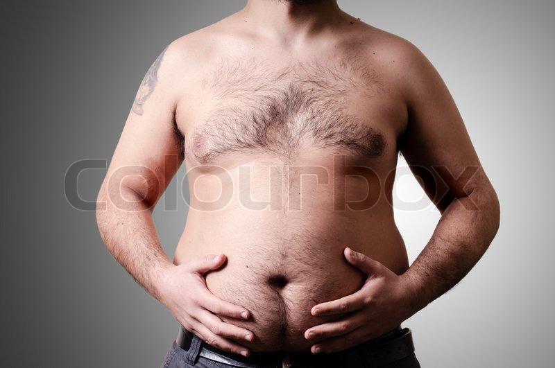 fedt på maven mænd