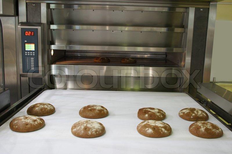 Bäckerei Backofen  StockFoto  Colourbox ~ Backofen Bakery