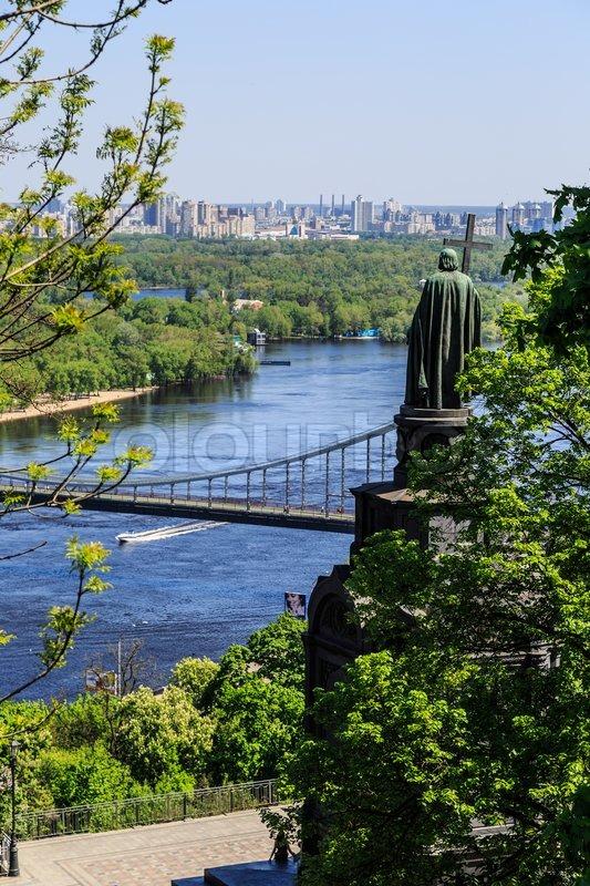 Panorama of Kiev, Ukraine, stock photo