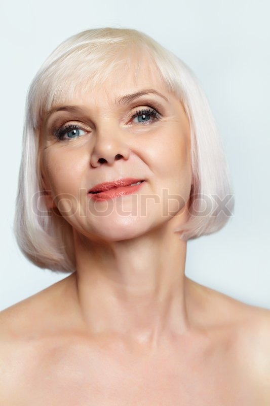 Smiling Mature Woman  Stock Photo  Colourbox-3366