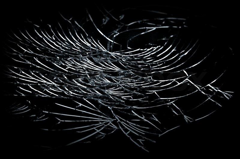 abstract textur glasscherben ber schwarzem hintergrund stockfoto colourbox. Black Bedroom Furniture Sets. Home Design Ideas