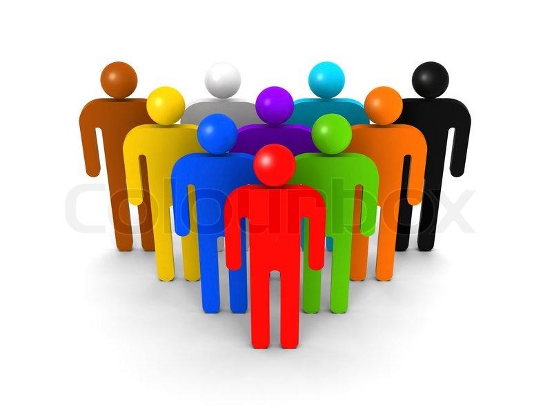 Gruppe Von Menschen Lizenzfreie Vektorgrafiken