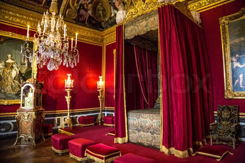 Das Schloss Versailles In Paris Stockfoto Colourbox