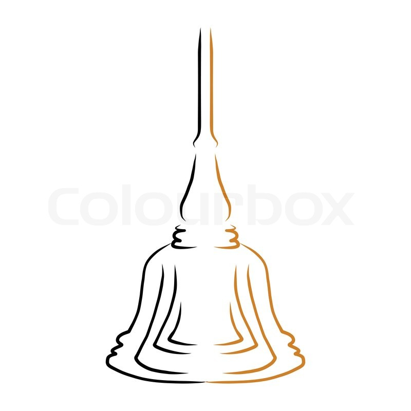 Simple Buddha Drawing