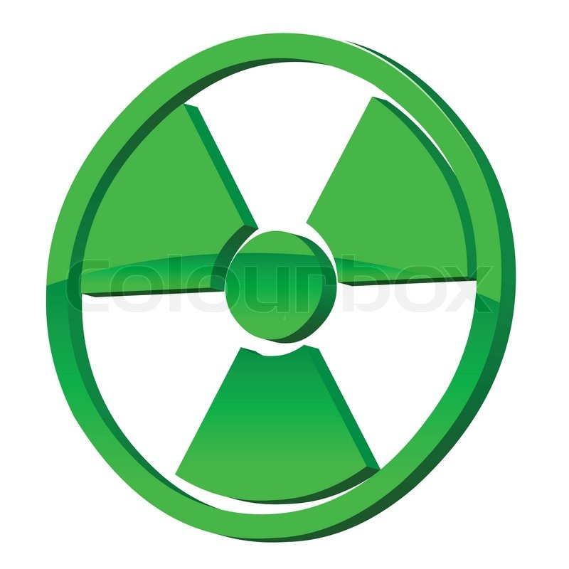 Radioactive Icon Vector Stock vector of...