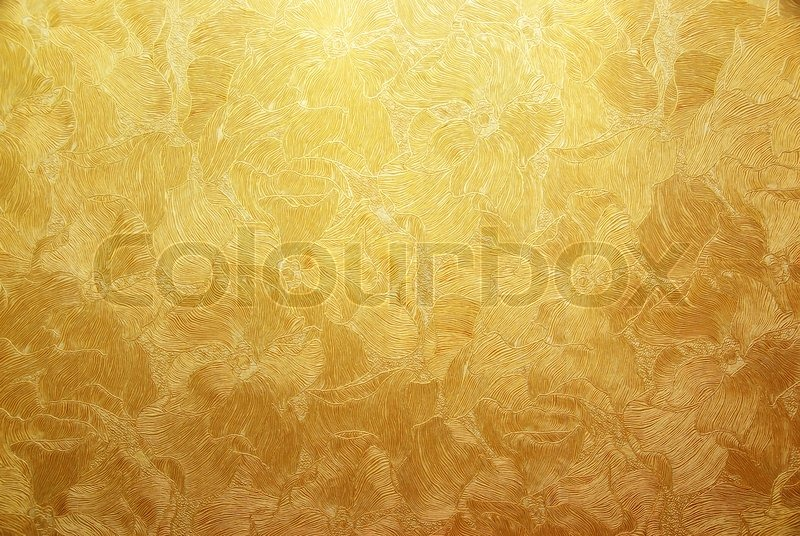 Gold background texture. Element of design, stock photo