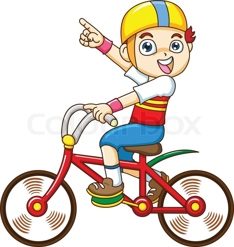 Similiar Funny Cartoon Picture Of A Bike Rider Keywords