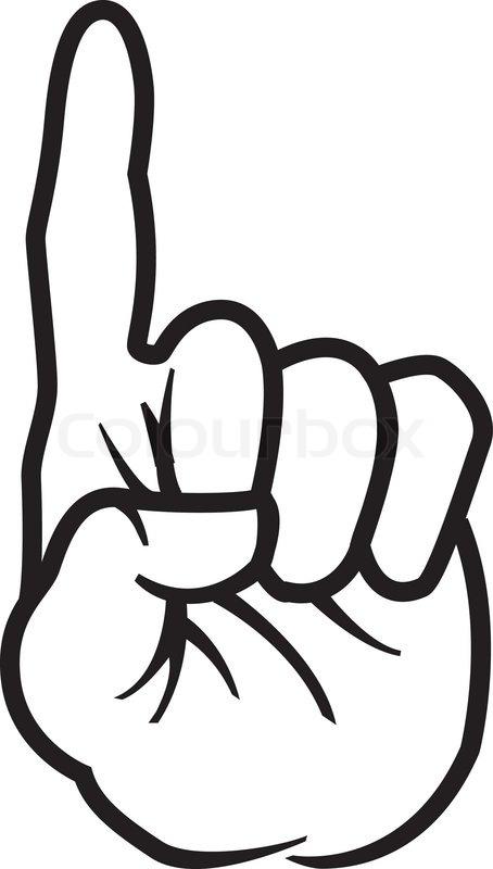index finger stock vector colourbox rh colourbox com hand pointing finger vector pointing finger vector graphic