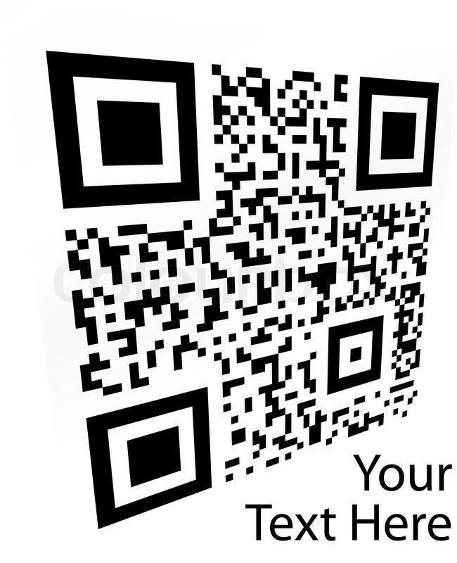 2D barcode Vector illustration | Stock vector | Colourbox