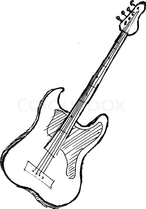 Hand Drawn Sketch Cartoon Stock Vector Colourbox