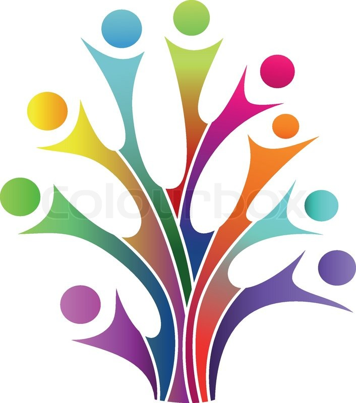 Vector Illustration Of Family Tree Symbol Stock Vector Colourbox