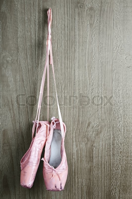 alt rosa ballettschuhe stockfoto colourbox. Black Bedroom Furniture Sets. Home Design Ideas