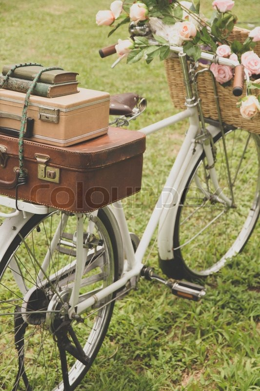 baskets Vintage bike