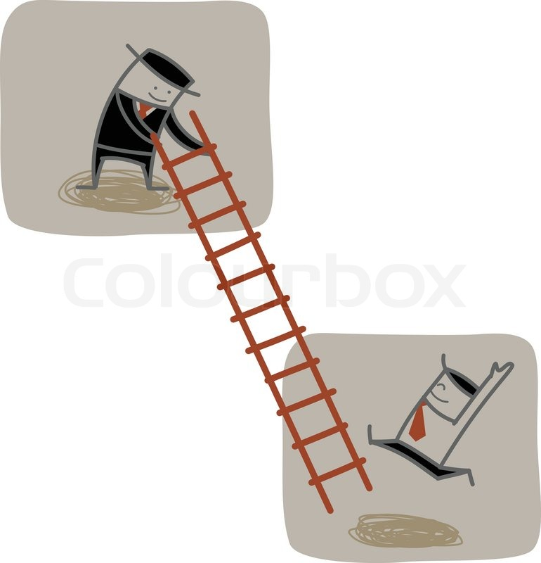 Help Up The Ladder : Help climbing ladder