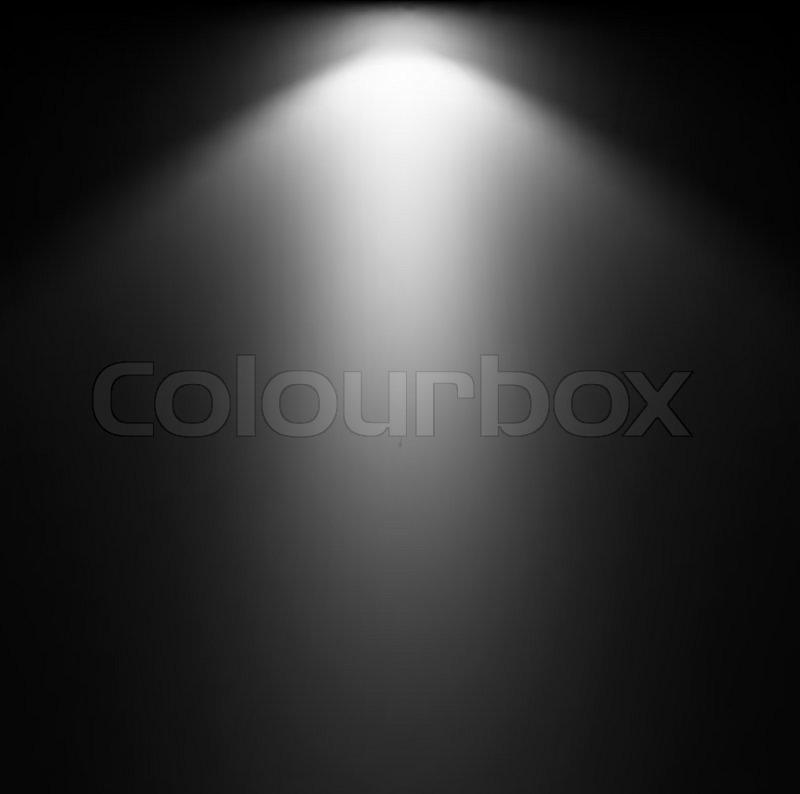 Light Beam From Projector Vector illustration | Stock ...