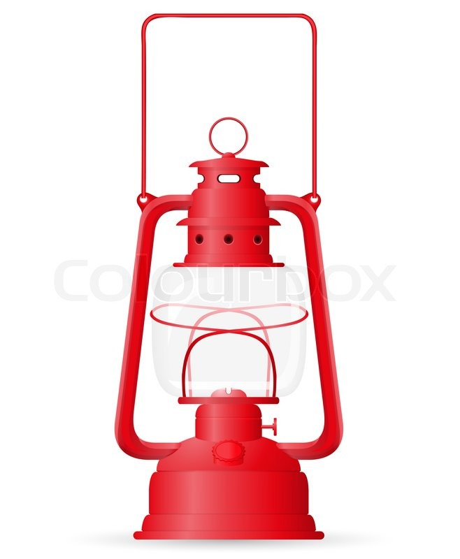 Stock Bild von 'Petroleumlampe Illustration'