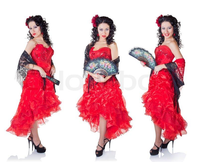 Spansk kvinde | Stock foto | Colourbox