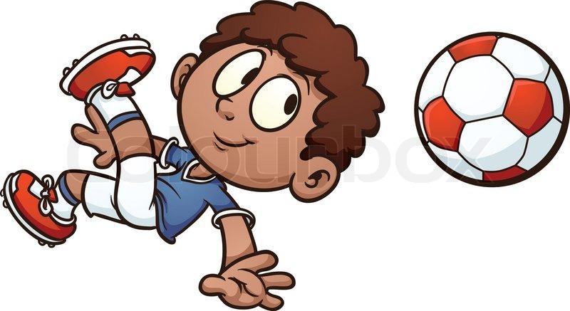 cartoon soccer kid - Kid Cartoon Pictures