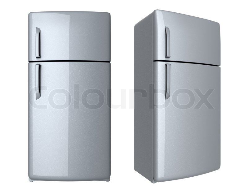 gammeldags køleskab