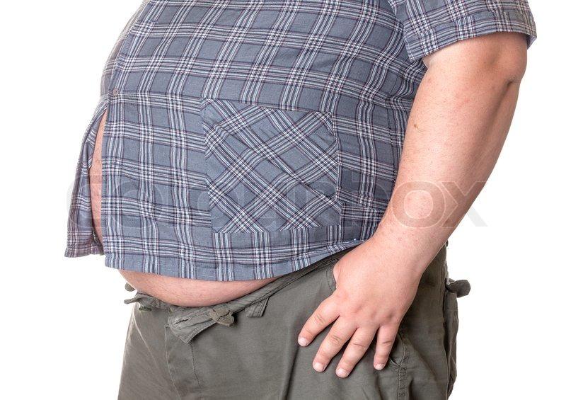Bild von fetter Kerl