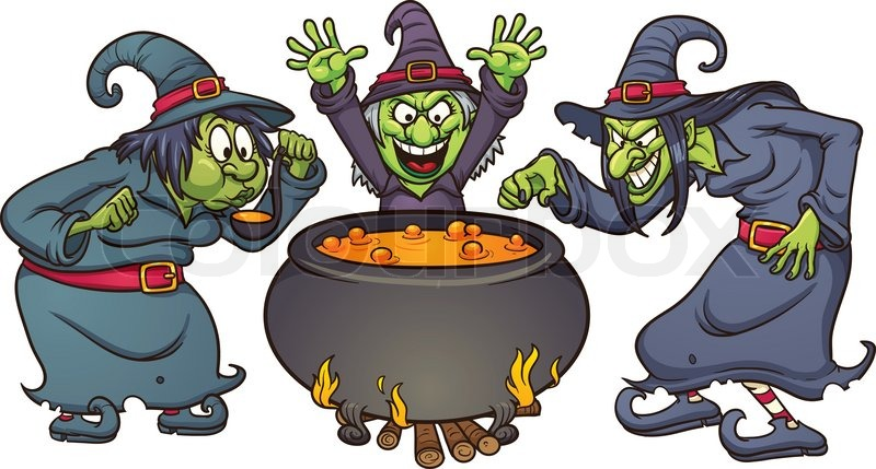 Image result for witches cartoon