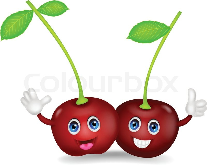 Cherries Cartoon Pictures