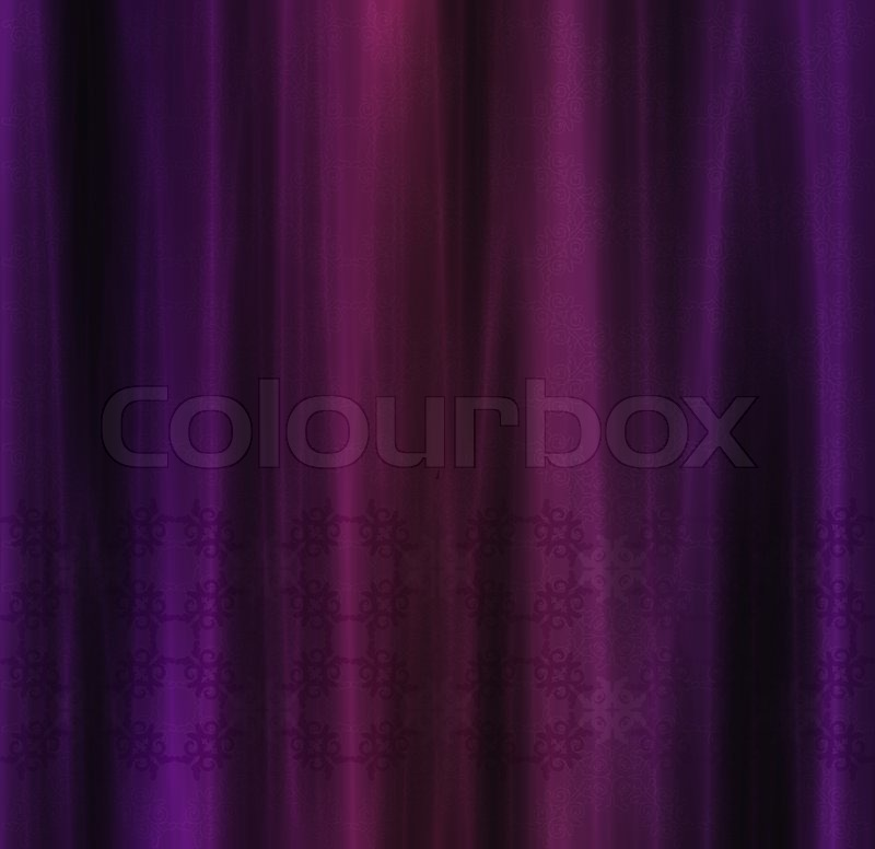 abstract decorative curtain background