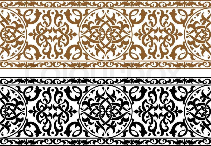 arabesque wallpaper