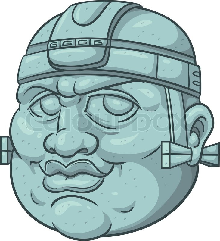 Olmec Head Stock Illustrations And Cartoons | Getty Images