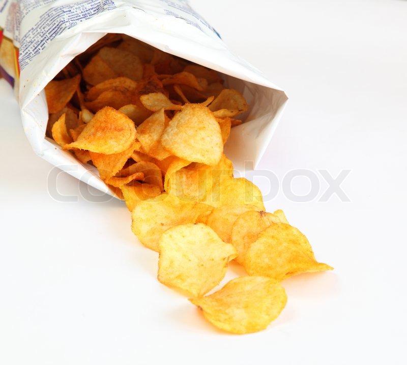 Рецепт сухариков или чипсов рисунок картинка