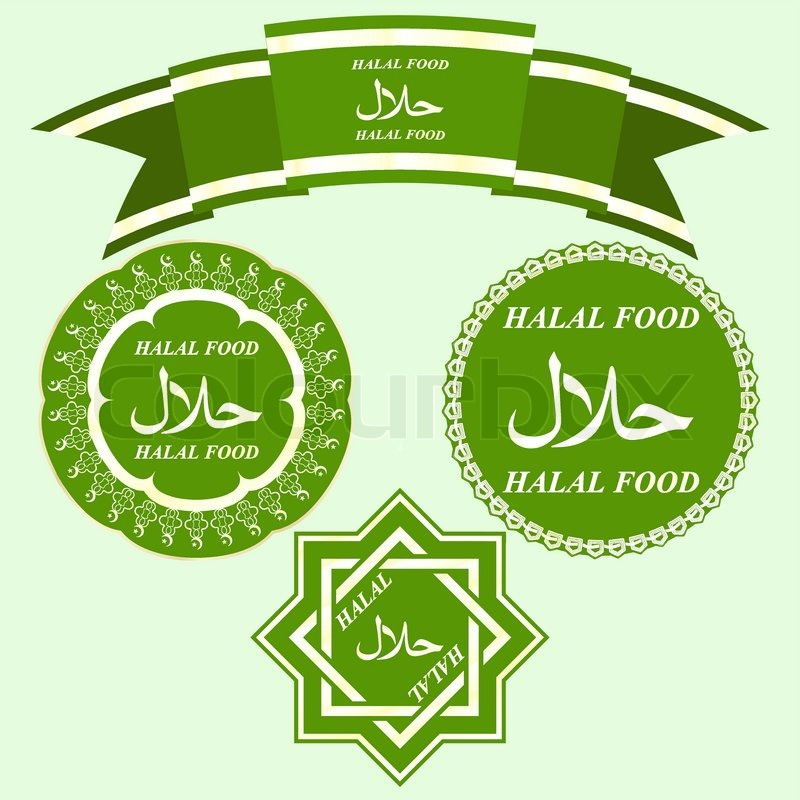 Halal Logo Vector Stock Vector of 39 Halal
