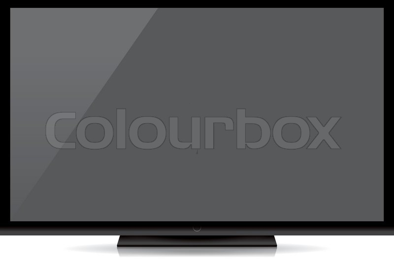 flat screen tv transparent background. modern blank flat screen tv isolated on white background transparent