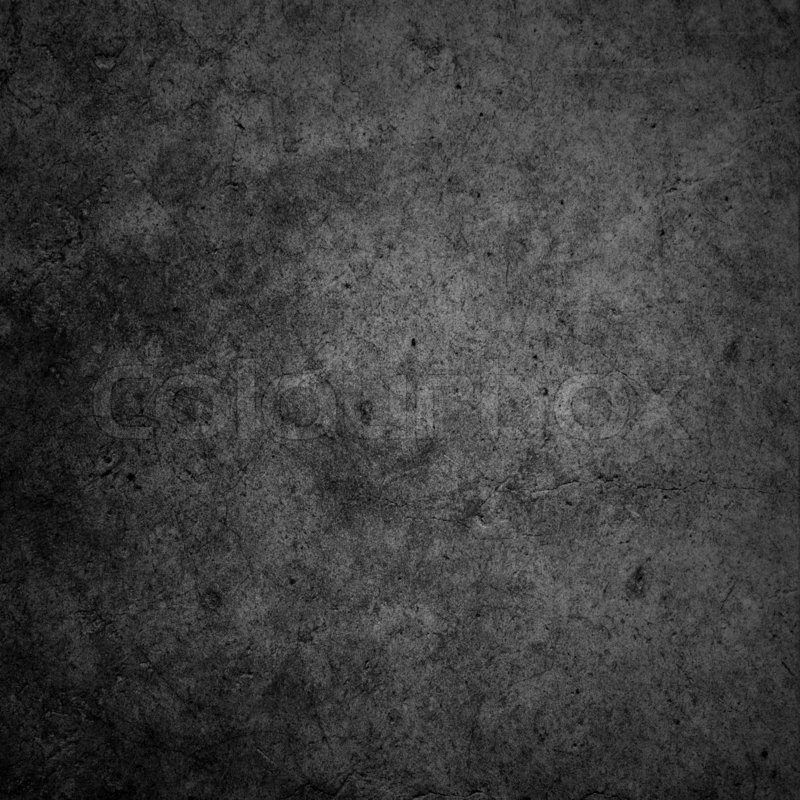 Concrete Wall Black Dark Background Or Texture Stock