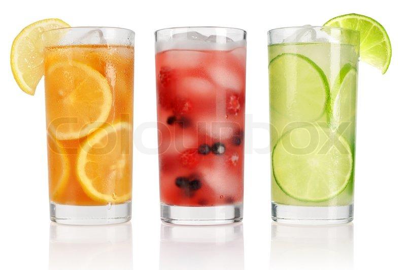 Sommer Getränke mit Eis | Stockfoto | Colourbox